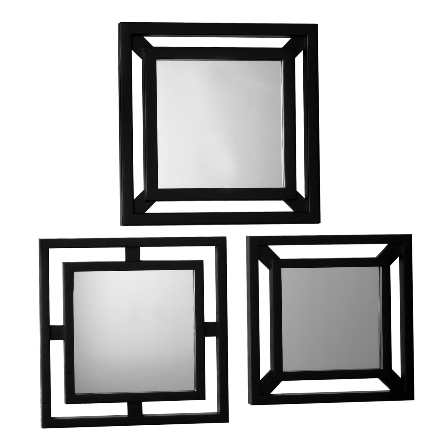 Small decorative mirrors set home design ideas for Small decorative mirrors