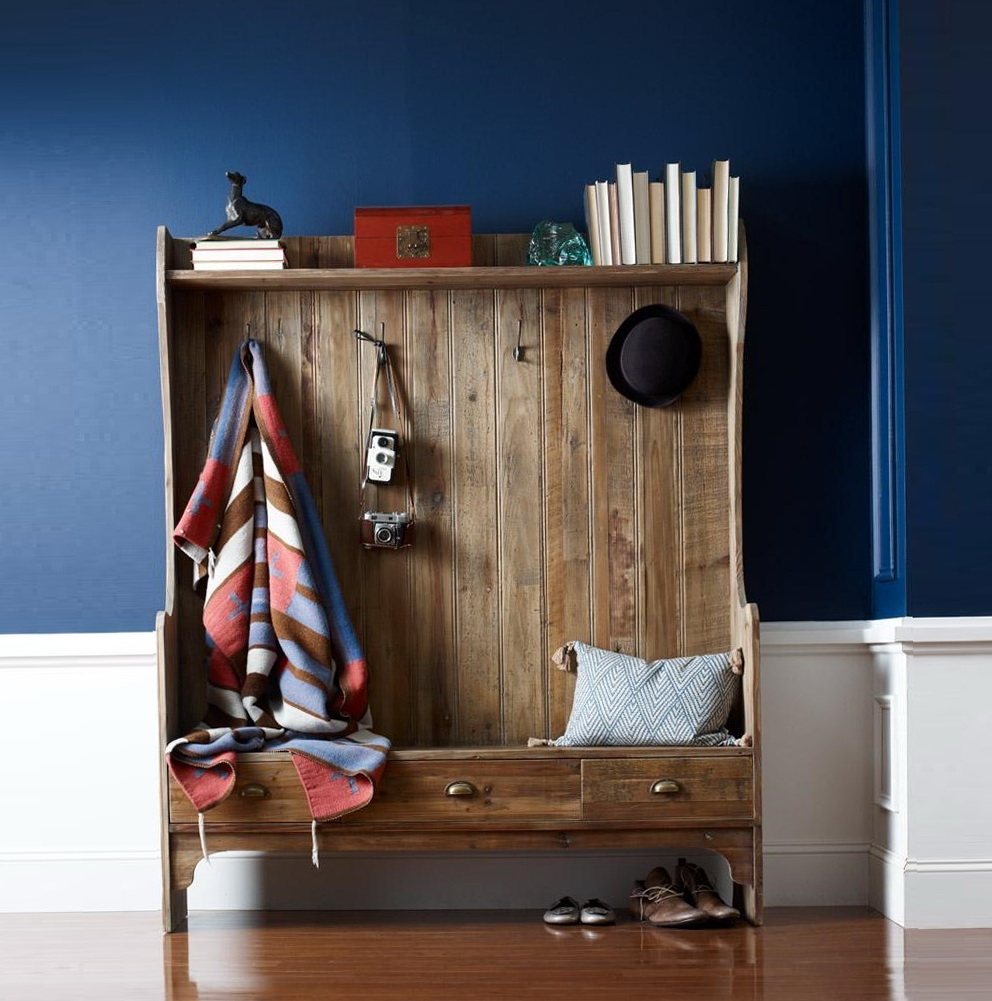 Small Entryway Bench With Coat Rack