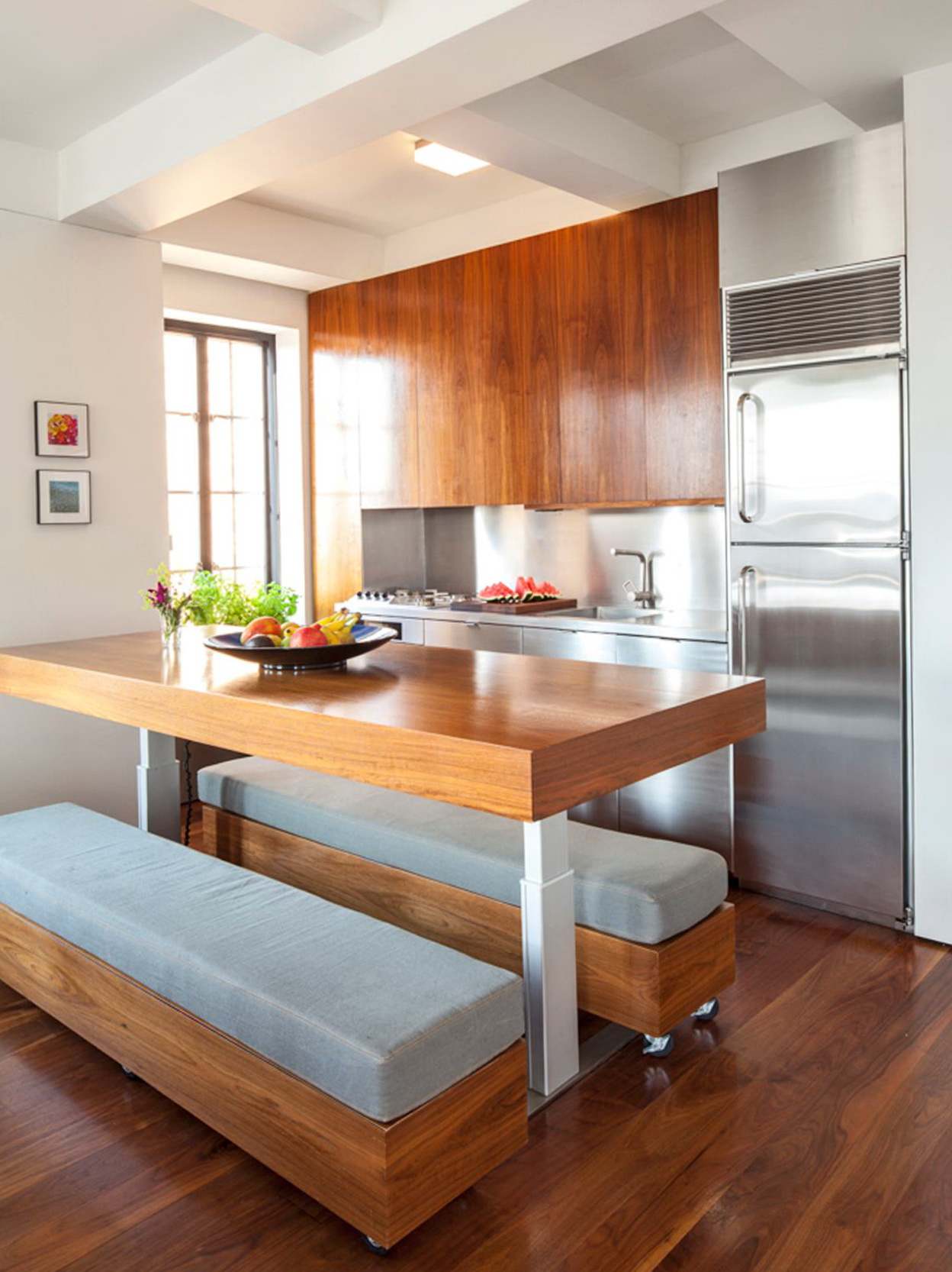 Small Kitchen Bench Seating