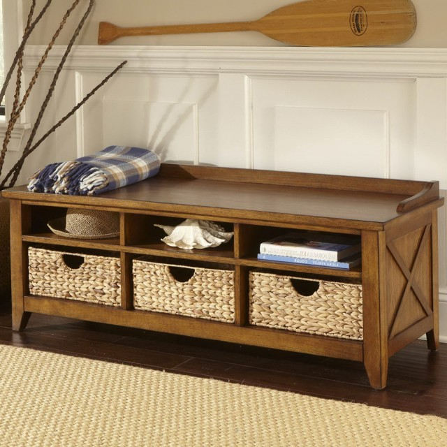 Small Storage Bench For Foyer