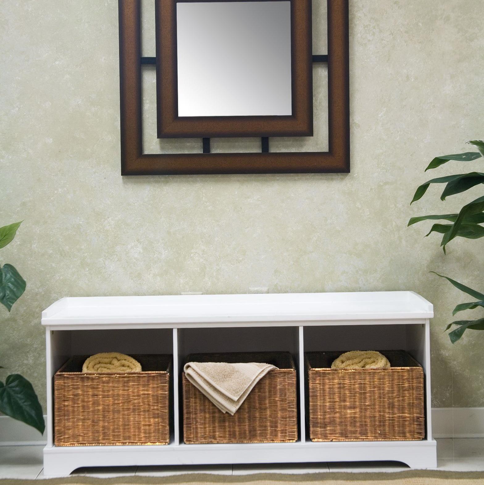 Storage Bench With Baskets Ikea