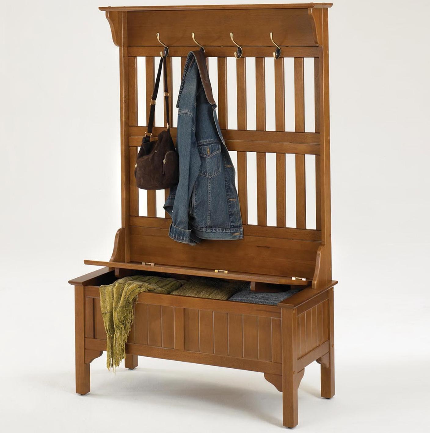 Storage Bench With Coat Rack Plans