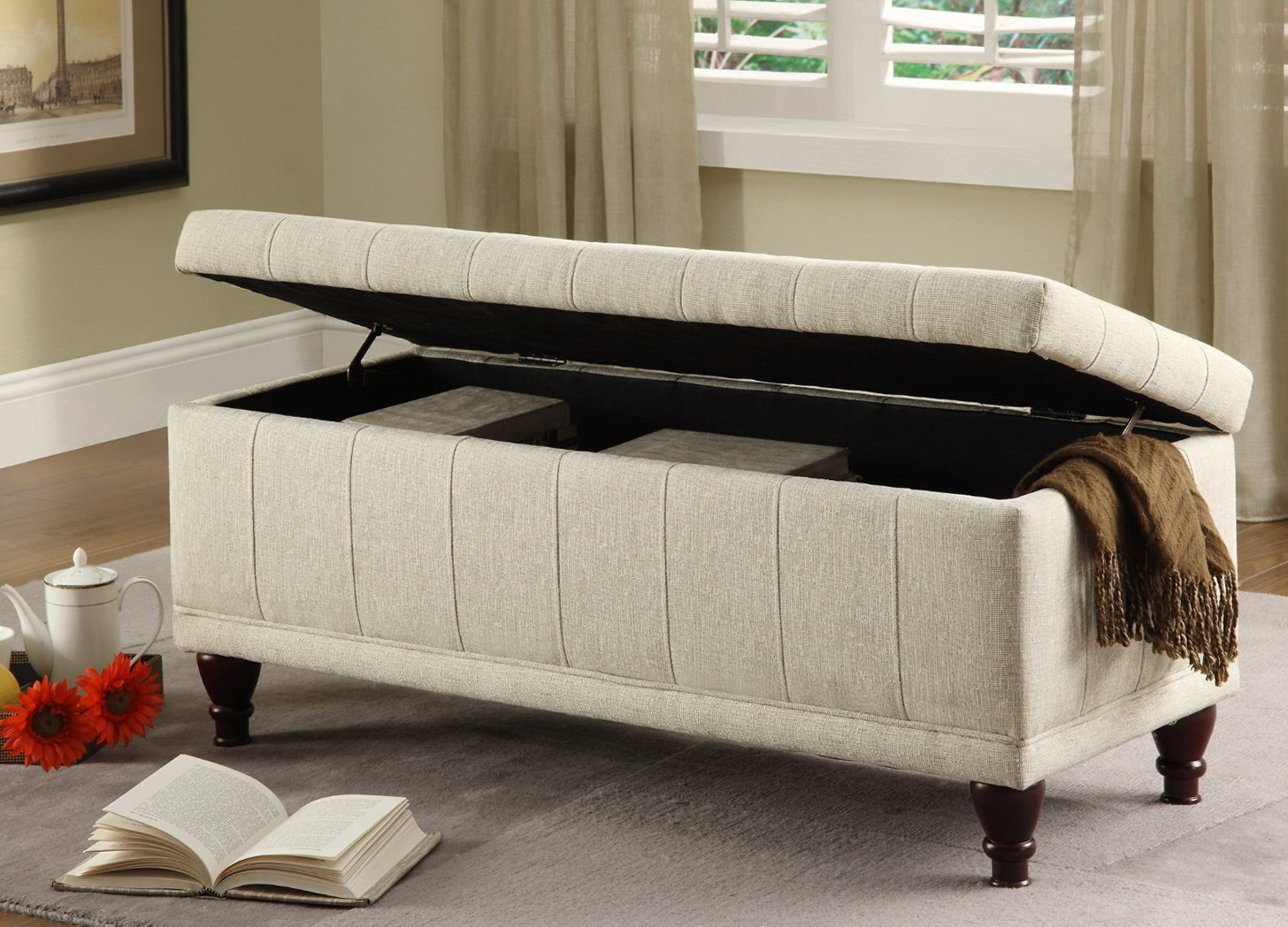 Storage Benches For Bedrooms