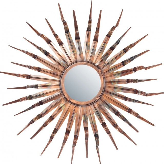 Sun Wall Mirror Decor