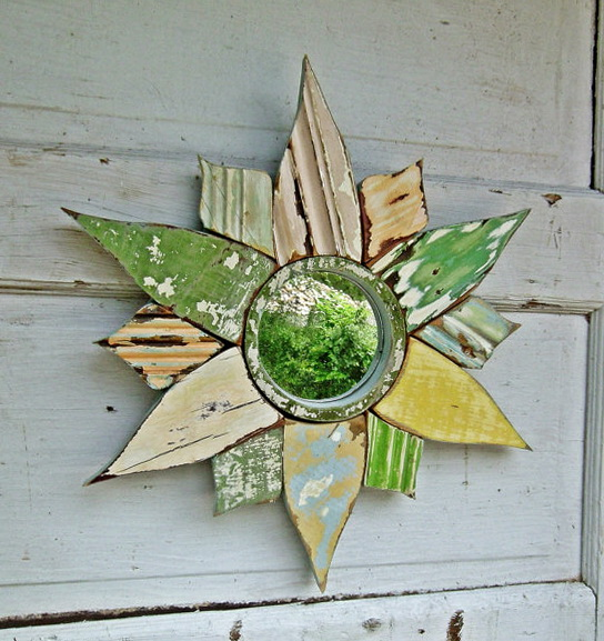 Sunburst Wall Mirror Graham Green