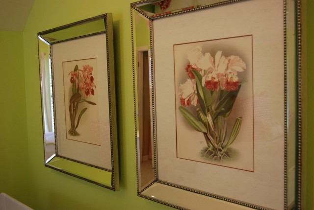 Tahari Mirrored Picture Frames