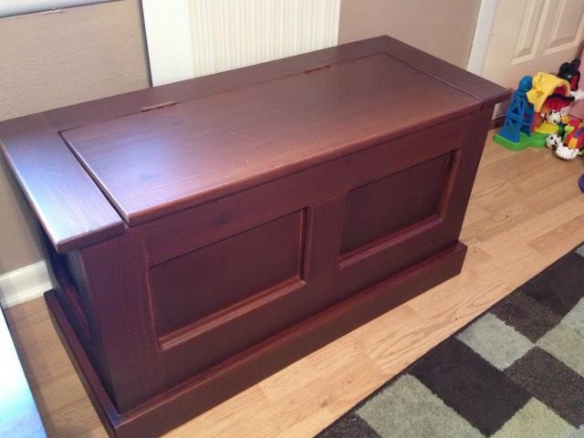 Toy Box Bench Diy