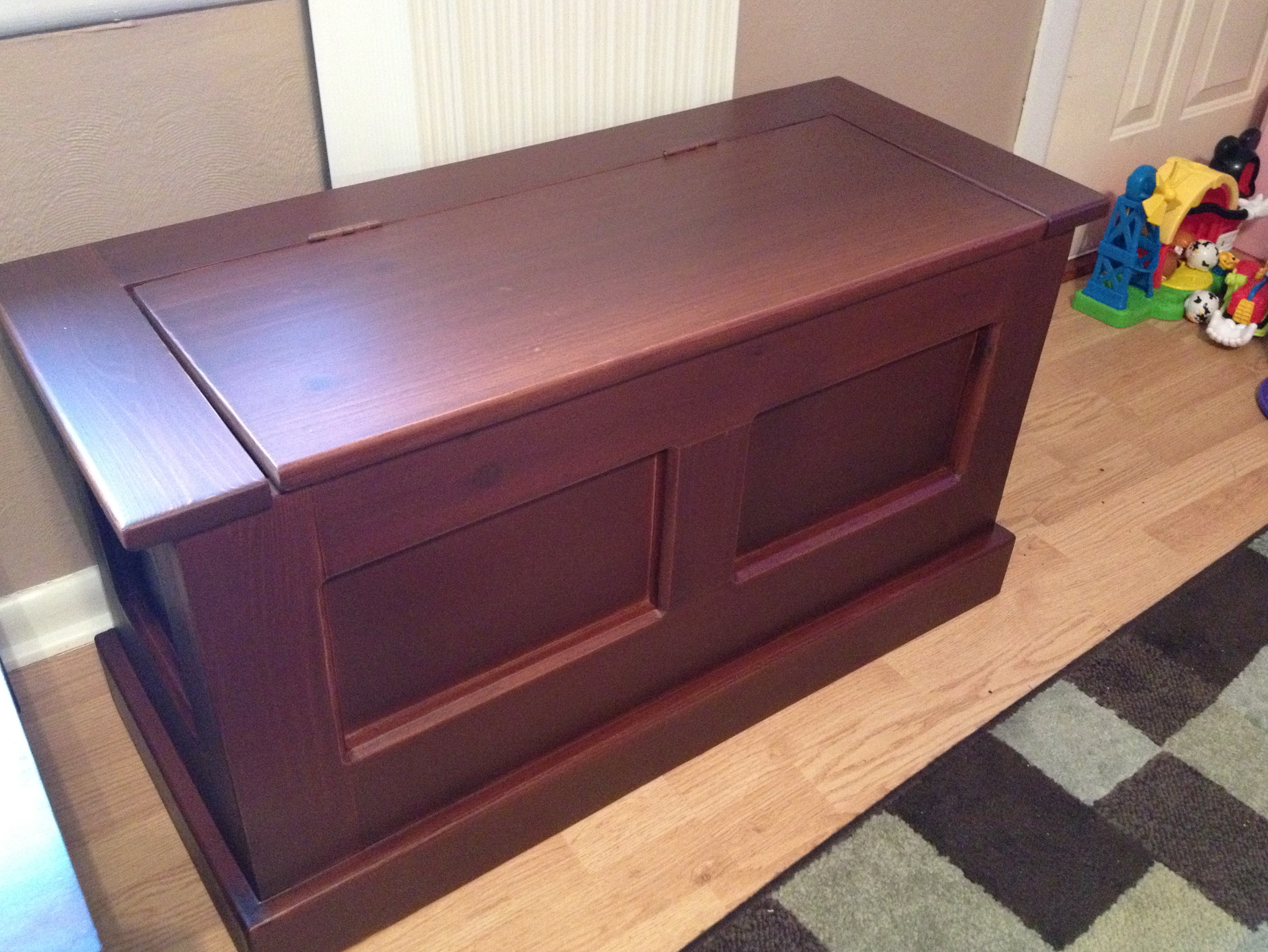 Toy Chest Bench Diy