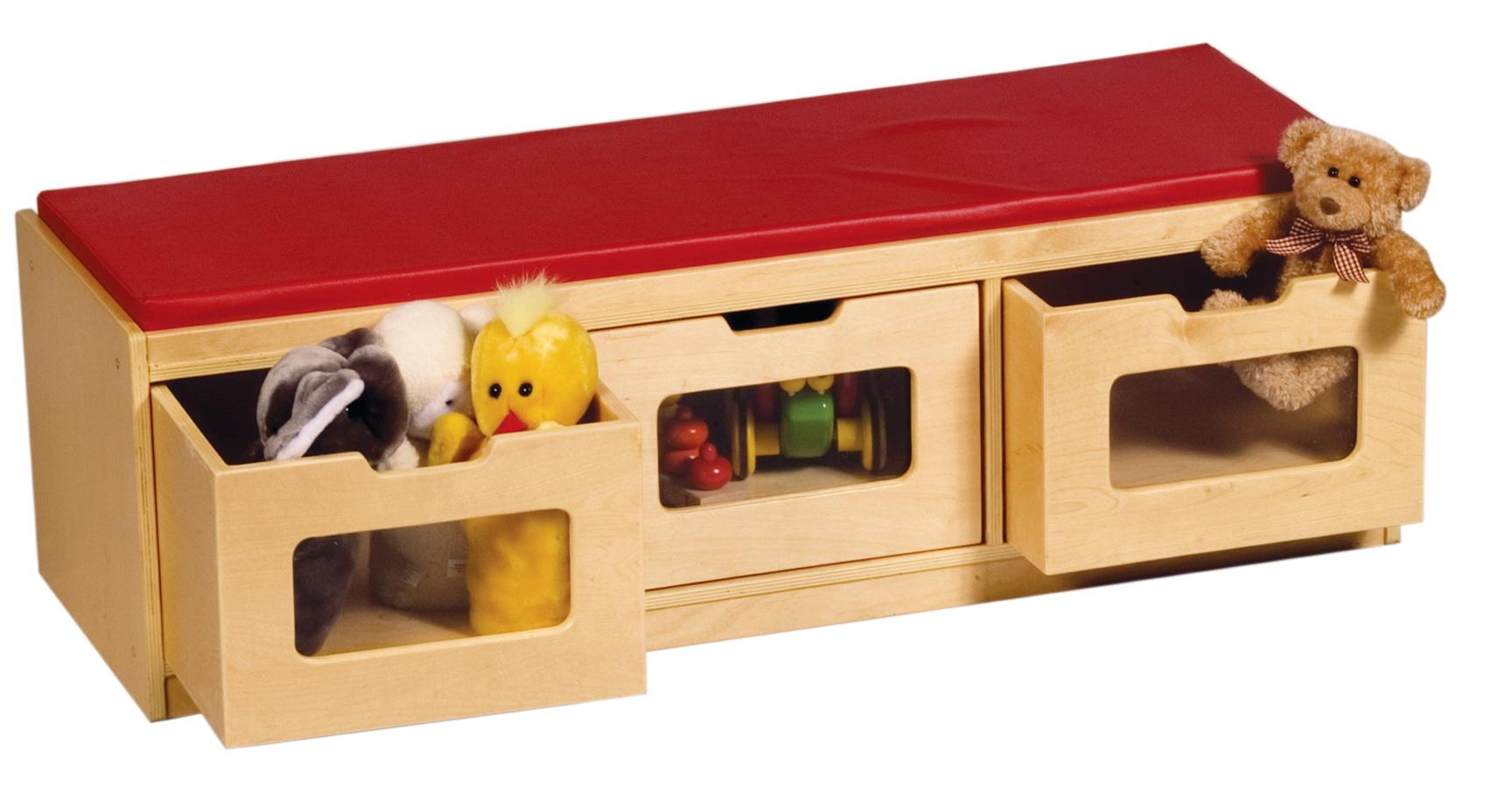 Toy Storage Bench Canada