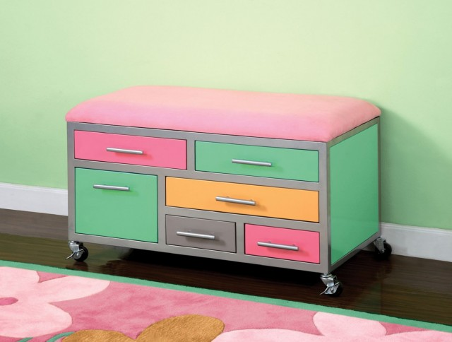Toy Storage Bench Plans