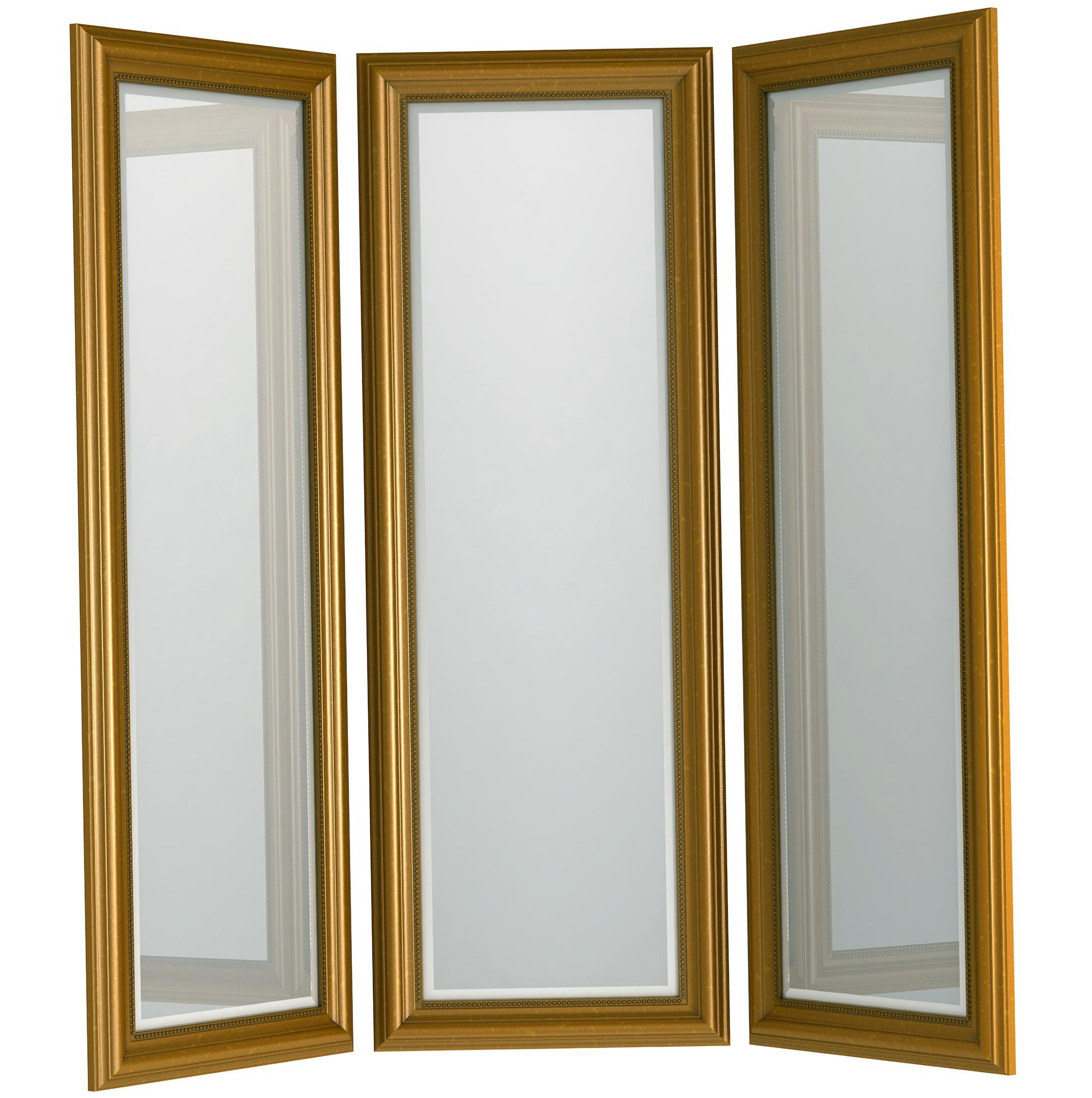 tri fold mirror full length ikea home design ideas. Black Bedroom Furniture Sets. Home Design Ideas