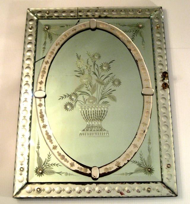 Venetian Glass Mirror Replacement Parts