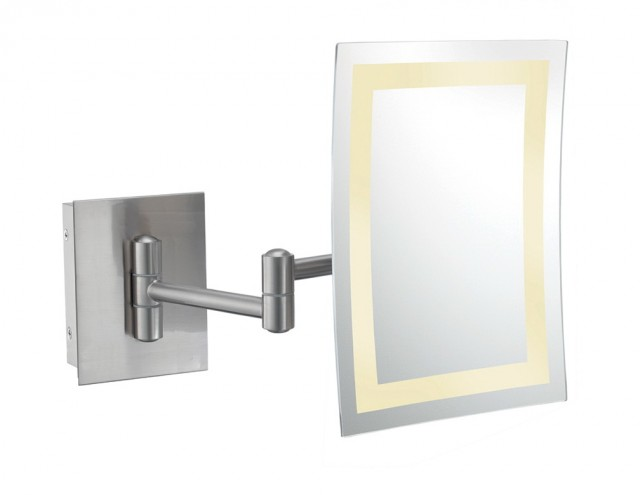 Wall Mount Mirror With Light