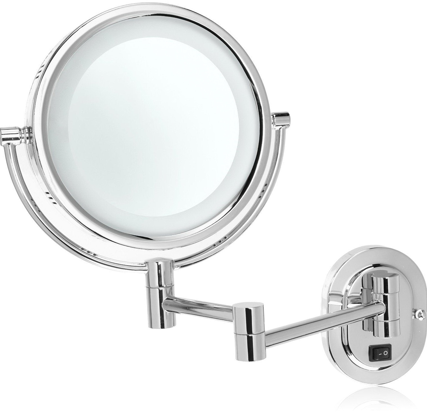 Wall Mounted Magnifying Mirror 15x Home Design Ideas