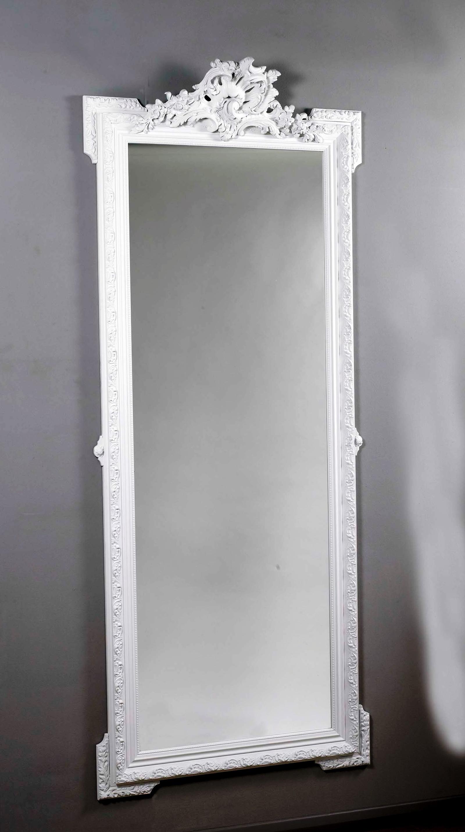 White Full Length Wall Mirror