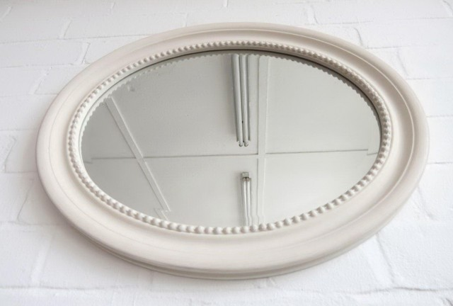 White Oval Mirror Uk