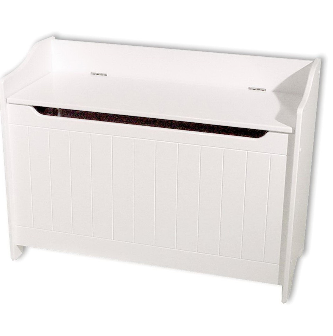 White Toy Chest Bench