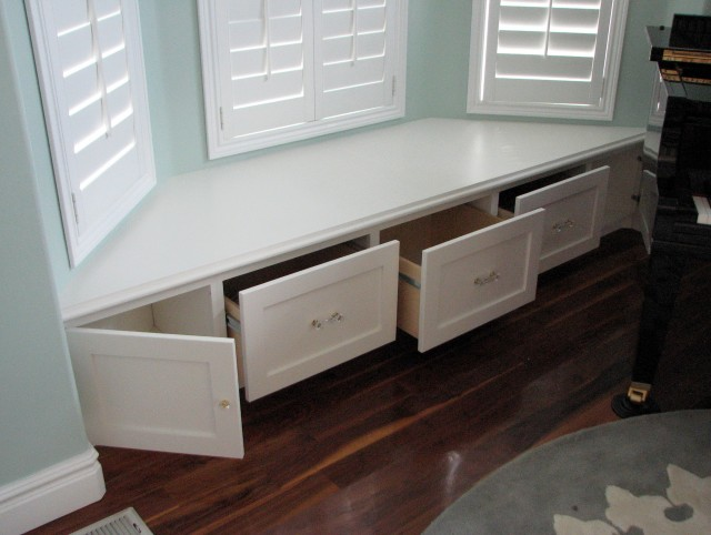 Window Bench Seats With Storage