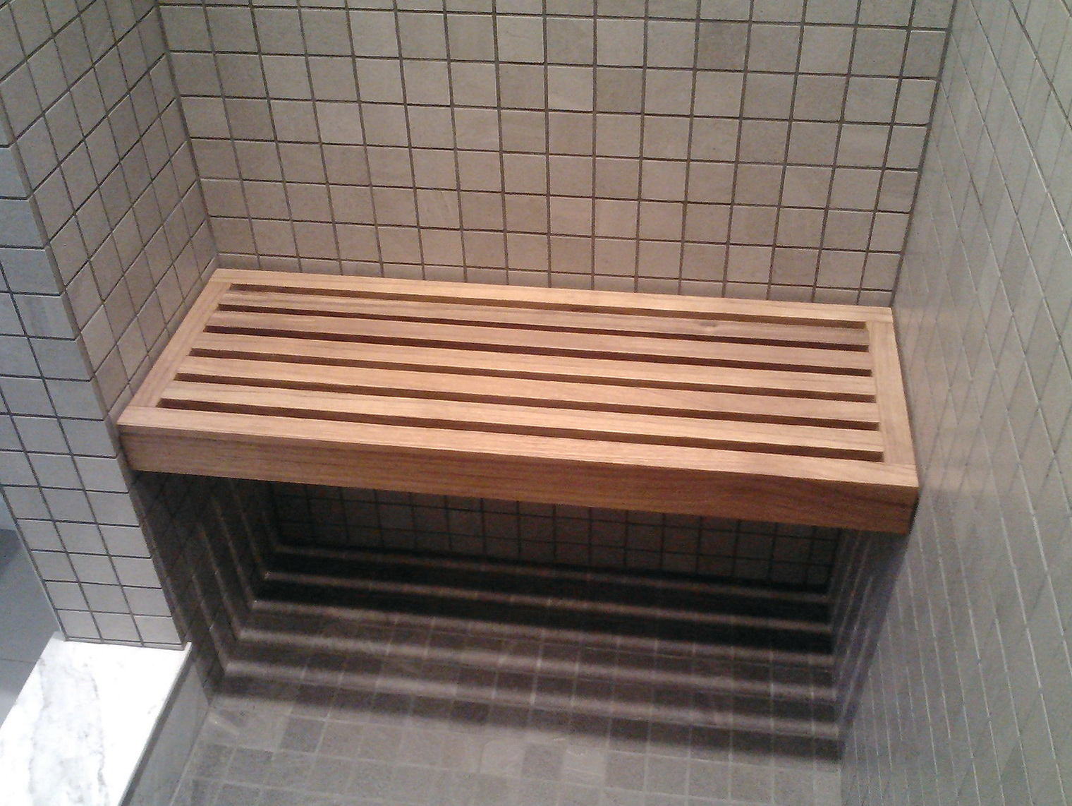 Wood Shower Bench Home Depot