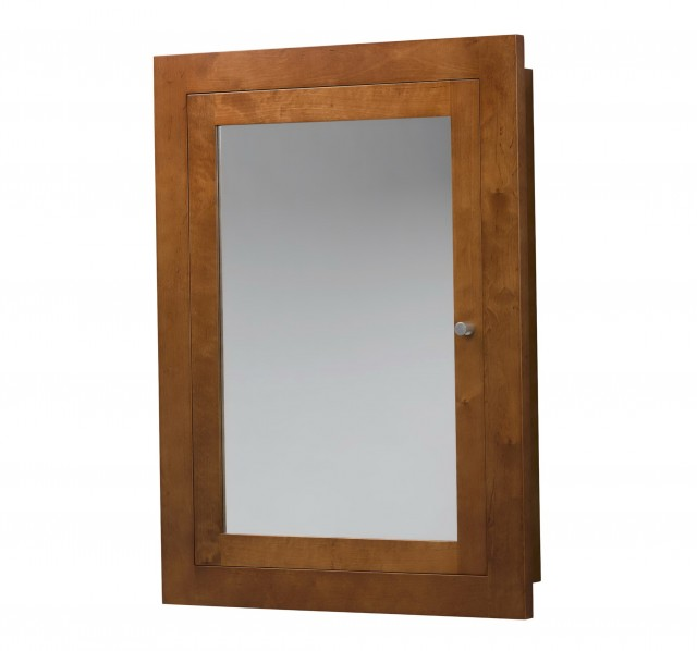 Wooden Medicine Cabinets With Mirror