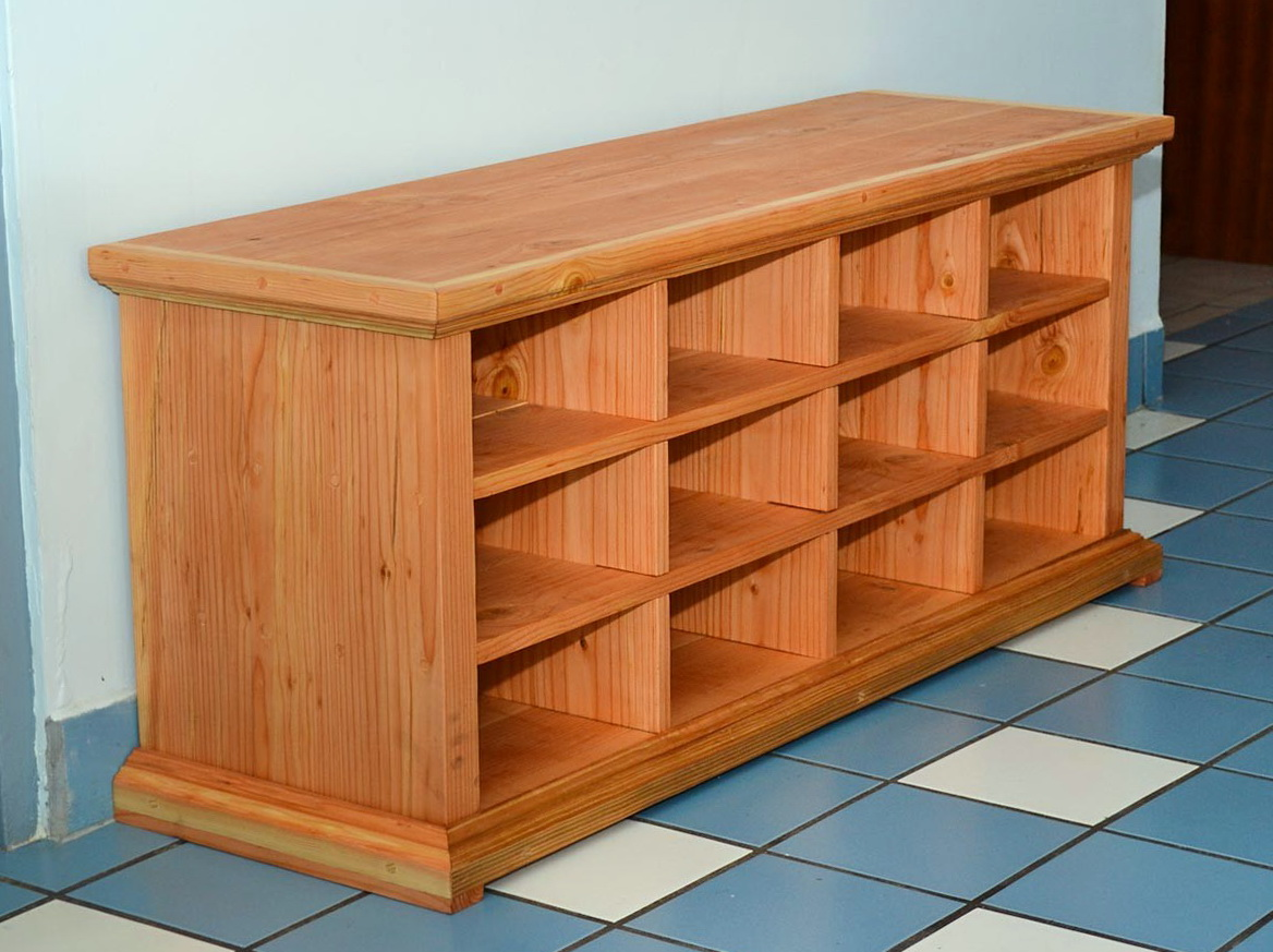 Wooden Shoe Cubby Bench Home Design Ideas