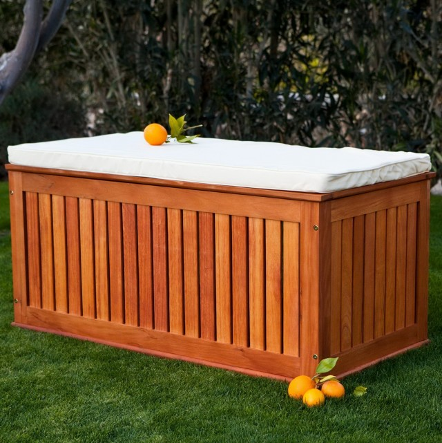 Wooden Storage Bench Plans