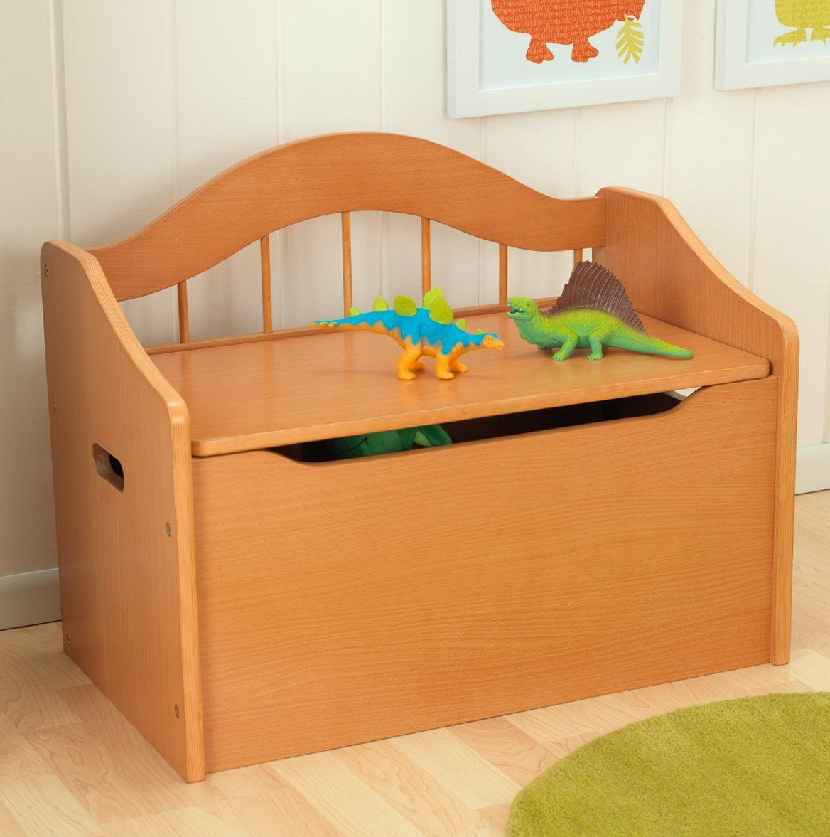 Wooden Toy Box Bench Home Design Ideas