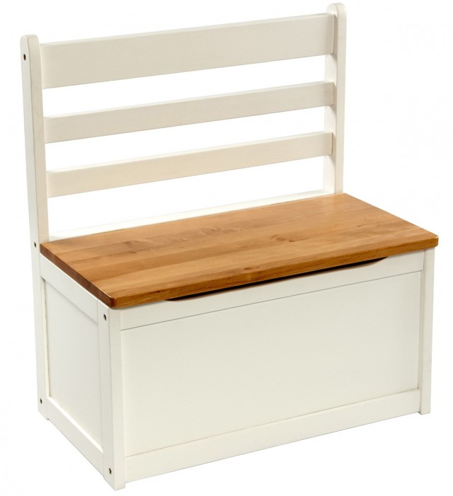 Wooden Toy Chest Bench