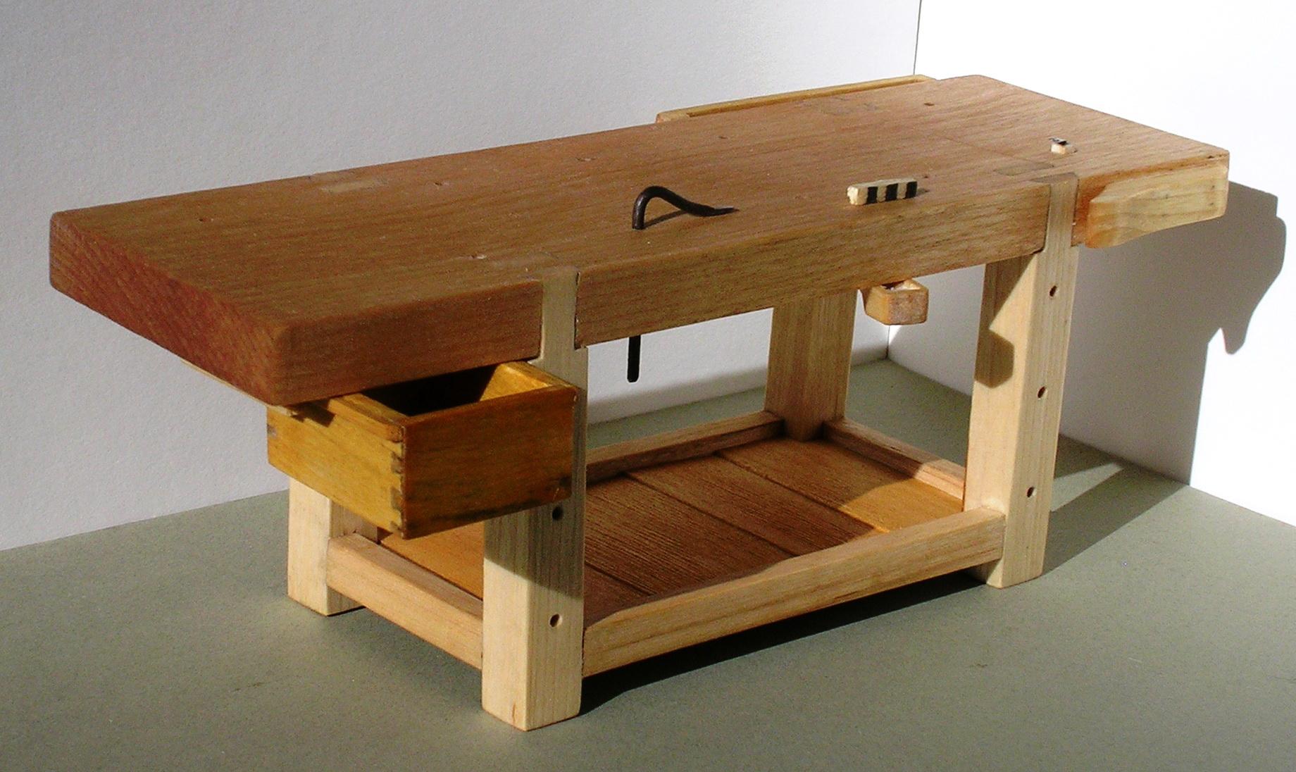 Wooden Work Bench Designs