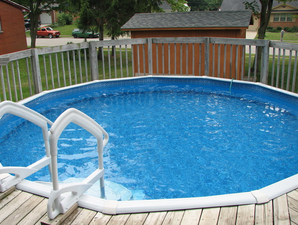 Above ground pool decks plans home design ideas for Free deck plans above ground swimming pools