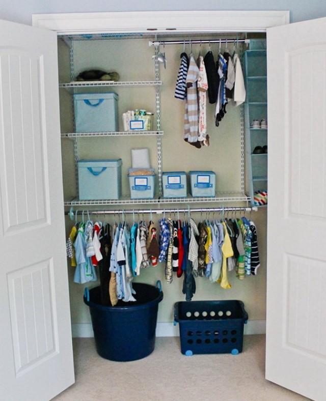 Baby Nursery Closet Organizers