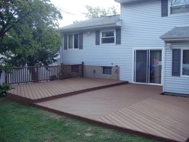 Backyard Deck Ideas Ground Level