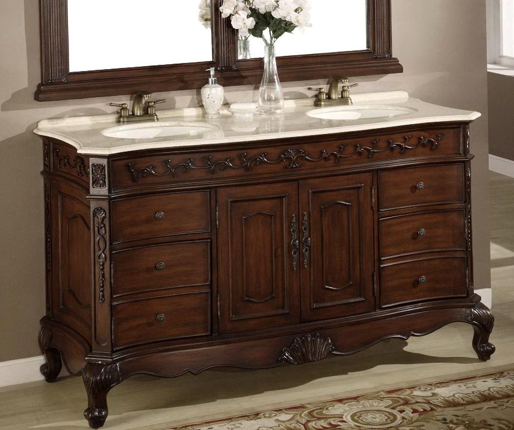 Bathroom Mirror For 60 Inch Vanity Home Design Ideas