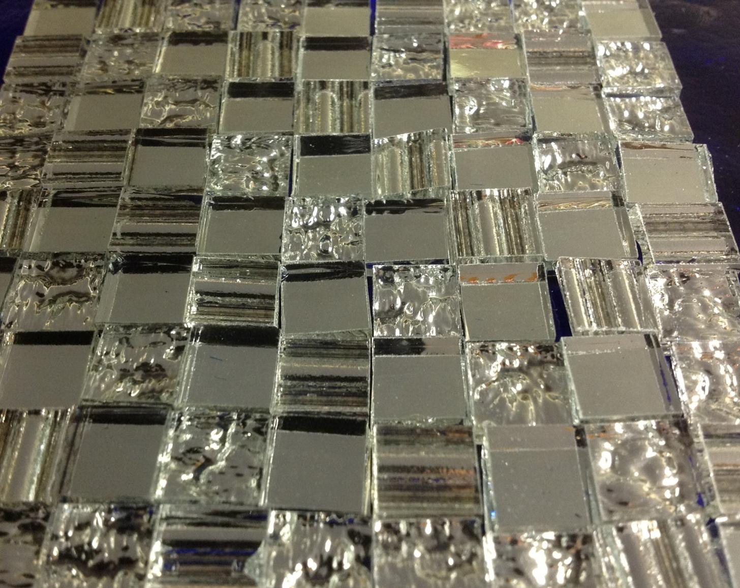Beveled Glass Mirror Tiles