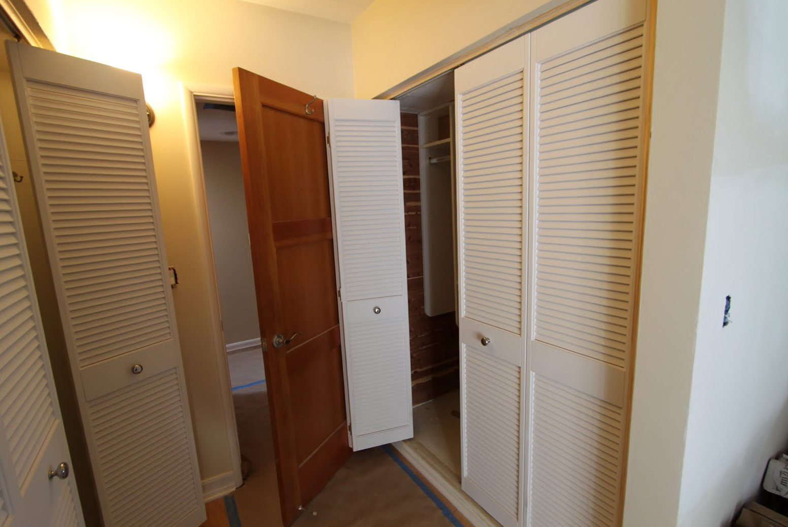 Bifold Closet Doors Louvered