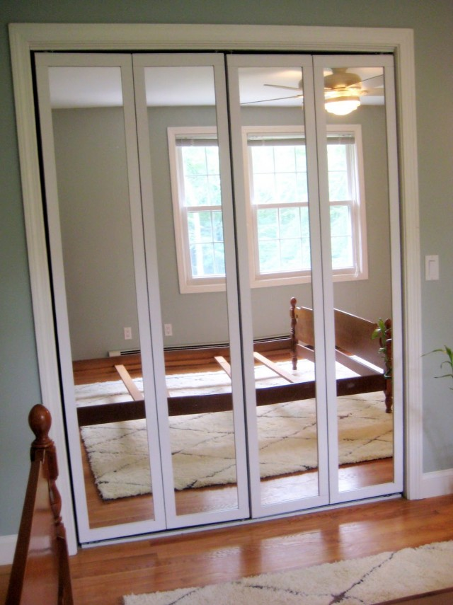 Bifold Mirrored Closet Doors Installation