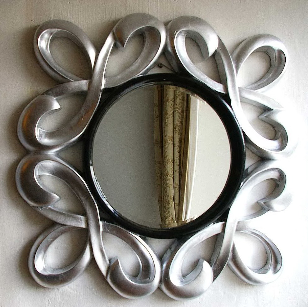 Black And Silver Wall Mirrors