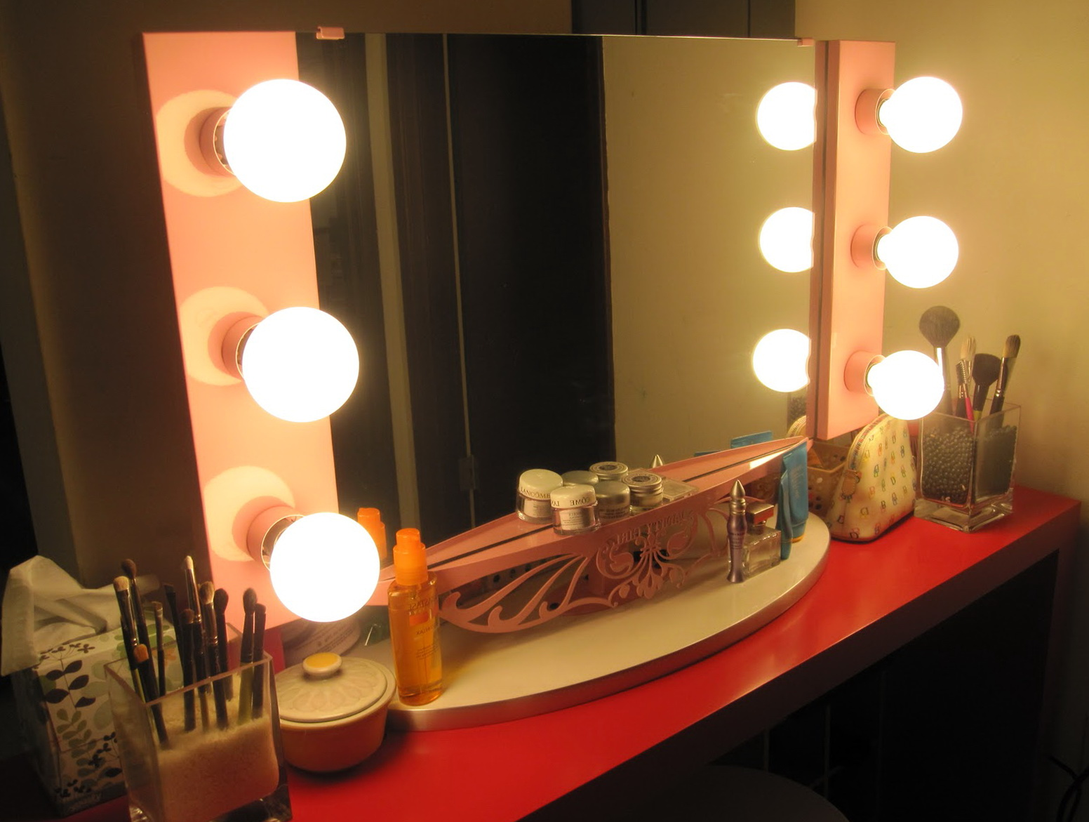 Broadway Lighted Vanity Mirror For Sale