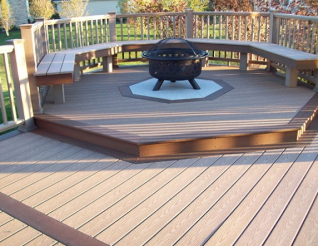 Building A Wood Deck Over Concrete Home Design Ideas