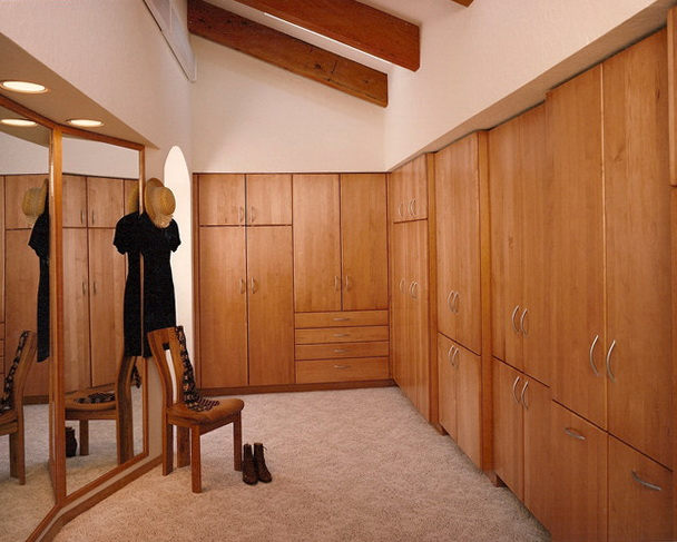 Built In Closet Cabinets