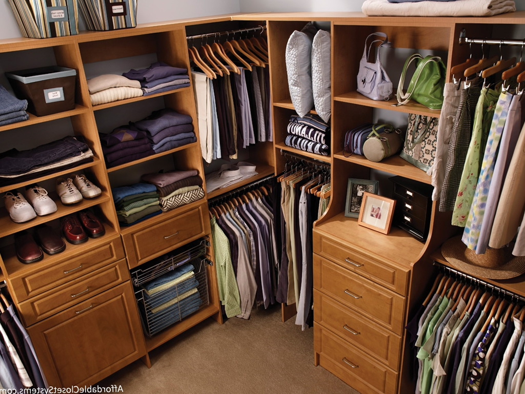 Built In Closet Storage Systems Home Design Ideas