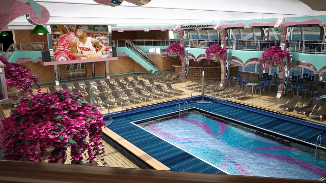 Carnival Valor Deck Plan 2014