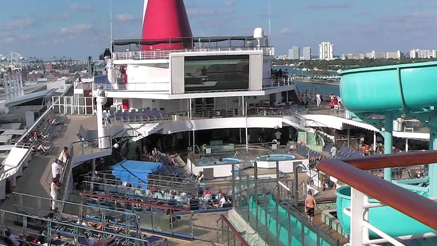 Carnival Valor Deck Plans Cabins