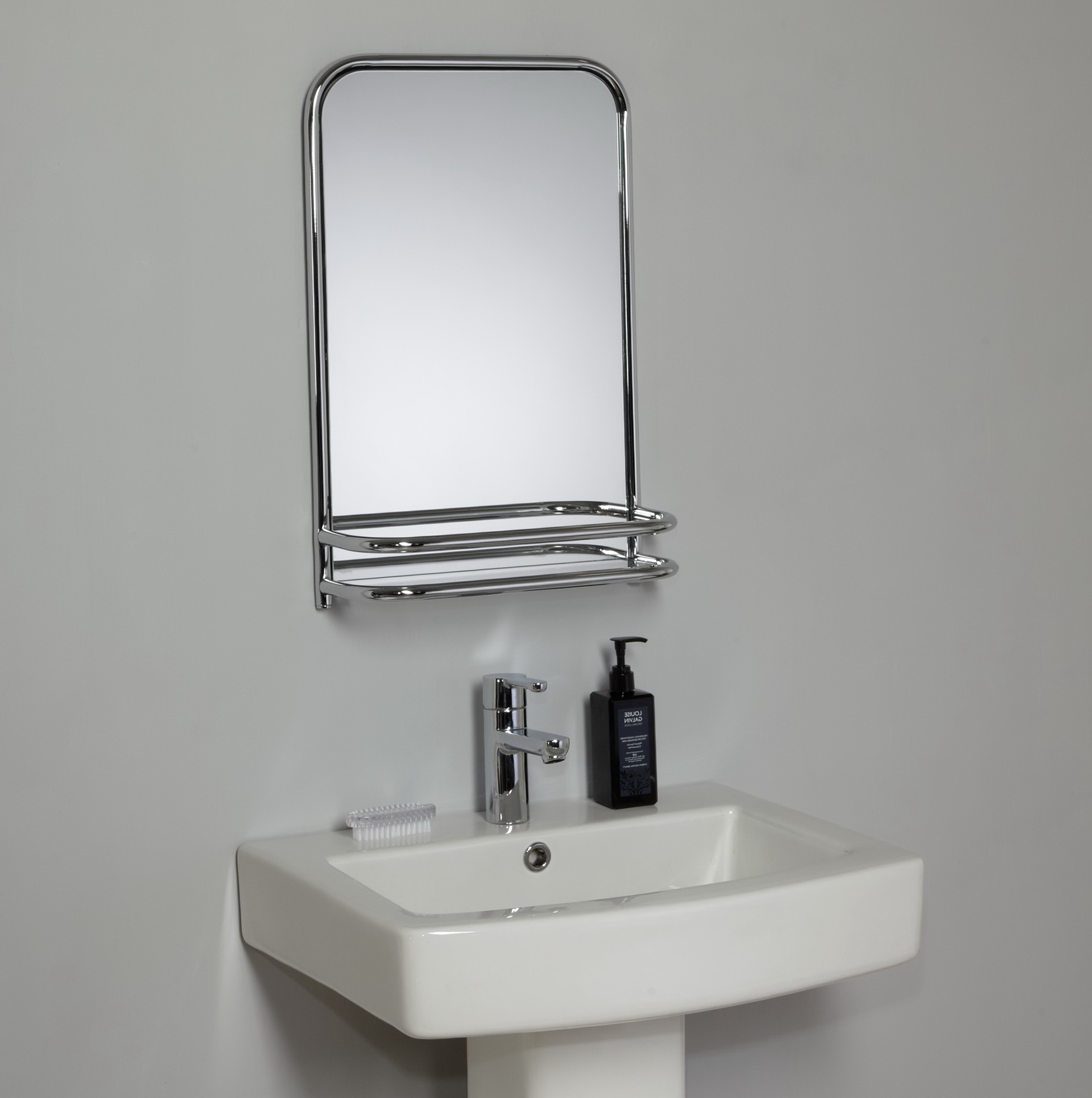 cheap bathroom mirror cheap bathroom mirrors with shelf home design ideas 12291