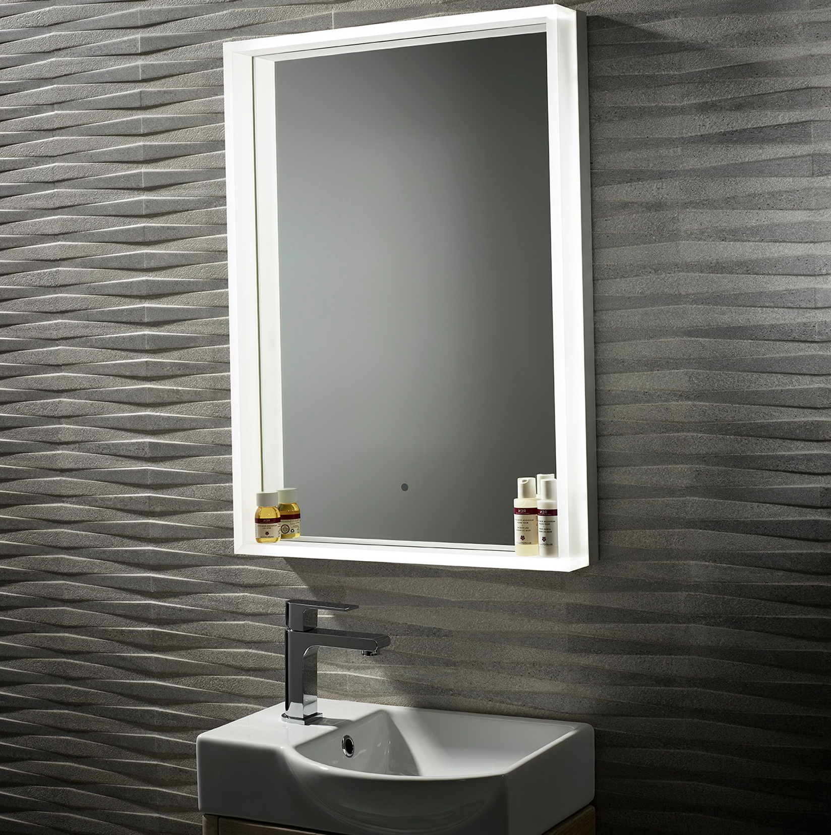 Cheap Illuminated Bathroom Mirrors