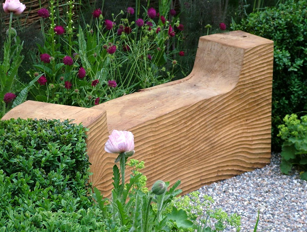 Chunky Wooden Garden Benches