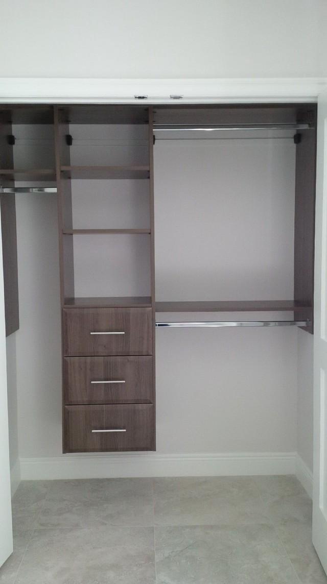 closet design ideas reach in - Reach In Closet Design Ideas