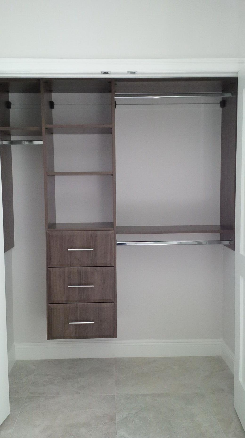 closet design ideas reach in home design ideas