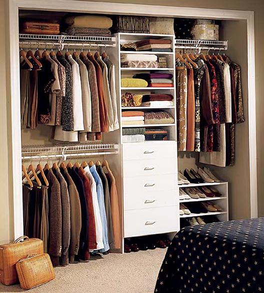 Closet Organizers Ideas Pinterest