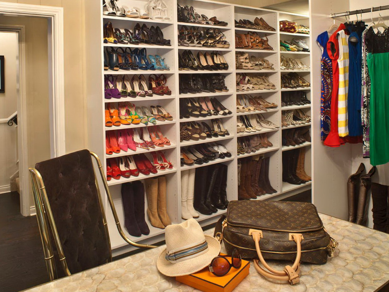 Closet Organizing Ideas For Shoes